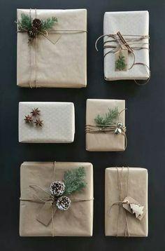 Jak originálně zabalit vánoční dárky  Inspirováno přírodou - Doporučujeme -  ŽENY S.R.O. Vánoční Výzdoba 4111d55427