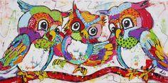 vrolijke schilderijen liz - Google zoeken