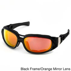 819badf3c52 Hot Optix Motorcycle Sunglasses with Removable Foam Inserts