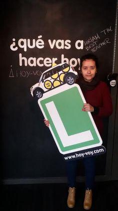 NADIA ESSANHAJI!!! #hoyvoy #autoescuela #granollers