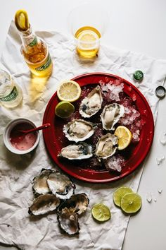 Hummingbird High: Grilled Oysters with Champagne Mignonette