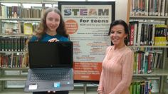OPLF Awards Laptop to STEAM for Teens Participant