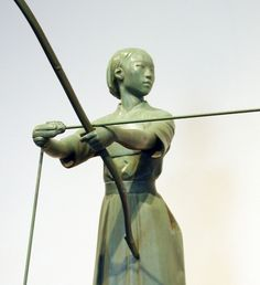 Yumi Archery form sculpture
