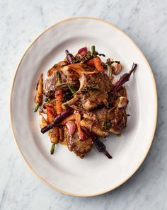 Sticky lamb chops (quick dish by Jamie Oliver) No Dairy Recipes, Cooking Recipes, Healthy Recipes, Healthy Food, Healthy Deserts, Free Recipes, 15 Minute Meals, Quick Easy Meals, Jamie Oliver Quick