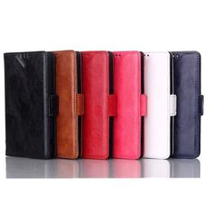 Fashion Shine Smooth Wallet Pu Leather Case For Sony Z1 Mini