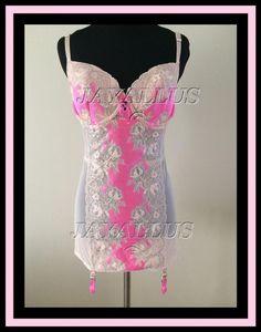 NWT Victoria s Secret Very Sexy Seduction Pink Garter Slip NWT 36B 36C 36D   VICTORIASSECRET  36B36C36D 03c5b4d19