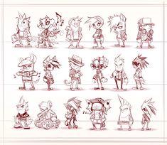 My Animal Friends by *frogbillgo on deviantART