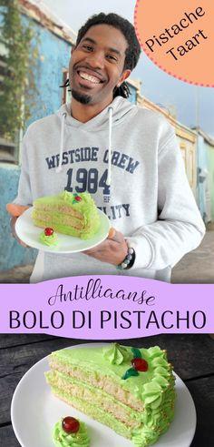 Het lekkerste recept voor de traditionele, Antilliaanse pistache taart: BOLO DI PISTACHO. Natuurlijk op www.antilliaans-eten.nl !