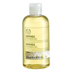 Moringa Shower Gel from the Body Shop - honey/floral yumminess gets me going in the mornings