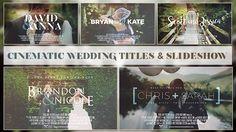 Cinematic Wedding Slideshow