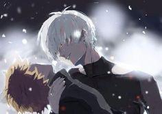 Resultado de imagen para kaneki x hide tumblr
