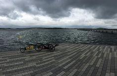 Es ist Herbst, aber kein Grund nicht mehr unterwegs zu sein. Heute mit dem #Liegerad am #Geiseltalsee unterwegs gewesen. Der neue Hafen in #braunsbedra wird auch langsam.
