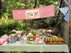 Farm party decorations - farm or barnyard, it's such a great theme. Down on the farm, baby!