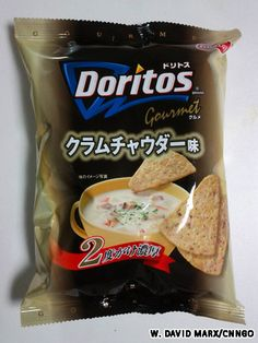 """Clam Chowder Doritos? Really? (and they have """"prawn"""" Cheetos in China)"""