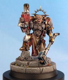 Blood Angels, Tycho, conversion, Space marine, 40k