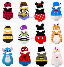Baby Boys Girls Animal Costume Bodysuit Outfit Romper Clothes Set size 000,00,0