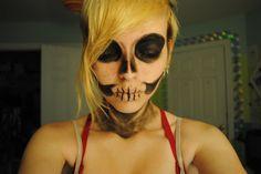 Halloween Skeleton Make-up