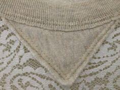 inspiration and realisation: DIY fashion blog: DIY sweatshirt refashion with lace