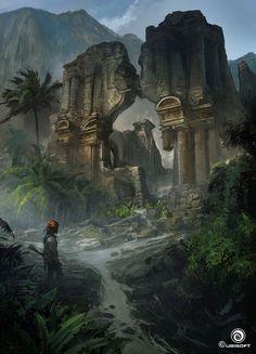 Ruins by Martin Deschambault