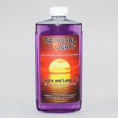 Pale Orchid Candle Oil by Tropical Lights. $7.95. Tropical Lights Candle Oil ... 99.5 percent pure liquid paraffin .. smokeless and odorless - Pale Orchid -- 16 oz. Bottle