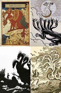 Balaur is, in Romanian mythology, a fantastic animal of huge size that often…