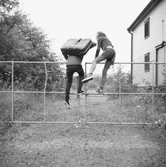 young love | best friends | jumping the fence | running away | old school | adventure | fun | freedom | not a worry in the world | www.republicofyou.com.au