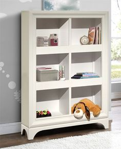 Transitional Youth Bedroom Bookcase