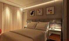 dormitório casal . apartamento