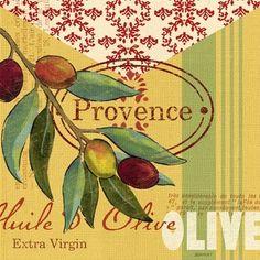 Olive Provence Olive by Jennifer Brinley   Ruth Levison Design