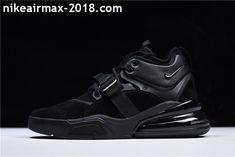 d828adbc215f Latest Nike Air Force 270 AH6772-003 Mens Sneaker Black For Sale Nike Air  Force