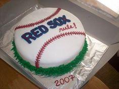 My son's baseball team championships cake