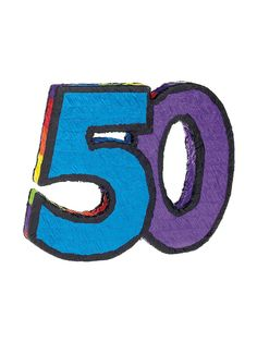 50th Birthday Pinata | Wholesale 50th Birthday Party Supplies & Decorations