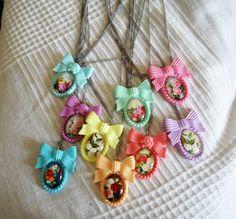 Soft Pastel Necklaces