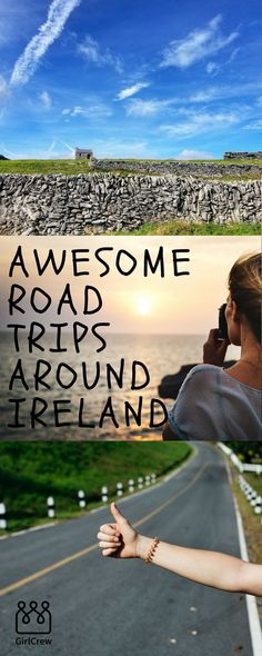 Summer time always calls for an epic road trip! Get a few of your closest girlfriends and head for the open road. Ireland has some of the most amazing scenery and places to visit. Don't let this summer pass without making memories on a road trip!