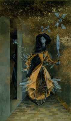 Remedios Varo, a Spanish born Mexican surrealist artist Art And Illustration, Guache, Mexican Art, Salvador Dali, Art Plastique, Surreal Art, Dark Art, Les Oeuvres, Painting & Drawing