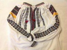 Romanian blouse. Vrancea region