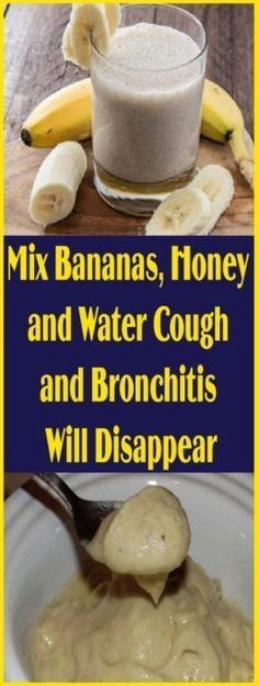 Treating chronic cough and bronchitis has always been a challenge even for conventional medicine…well, up until now. This new natural remedy contains some of the oldest and most powerful ingredients that soothe the throat and lungs and cure coughing and bronchitis in no time! Thanks to the mighty properties of honey and bananas, which are included in the recipe, you can use this remedy for both children and adults and enjoy its flavor as well! Anything from sore throat, bad cough and e..