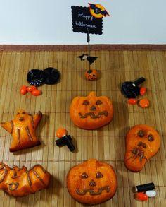 Bizcochos de halloween