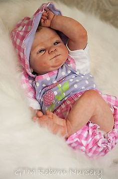 Reborn Baby Doll Girl Coco Malu Extreme Realism relisted due to NPB