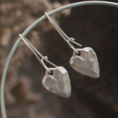 Tutti & Co Jewellery Silver Heart Drop Earrings. Now £9.99 http://www.lizzielane.com/product/tutti-co-jewellery-silver-heart-drop-earrings/