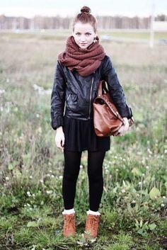 Nice scarf!