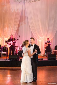 Stephanie and Brian's Intercontinental Chicago Wedding First Dance Chicago Wedding Venues, Unique Wedding Venues, Wedding Reception, Prom Dresses, Formal Dresses, Wedding Dresses, Wedding First Dance, Event Decor, Special Events