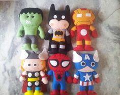 Bonecos Super Heróis