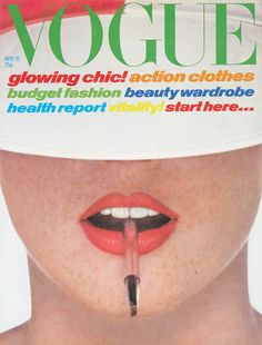 Vogue cover from April 1978 x