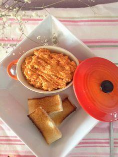 PÂTE DE PIMIENTOS DEL PIQUILLO con Thermomix Tapas, Cocina Natural, Canapes, Cornbread, French Toast, Plates, Cheese, Breakfast, Cake