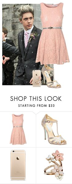 """""""Sin título #255"""" by luciabelen-26 ❤ liked on Polyvore featuring Glamorous, Betsey Johnson and Accessorize"""
