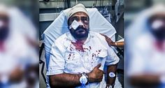 'Go back to your country, Bin Laden': Elderly Sikh severely beaten ahead of 9/11 anniversary
