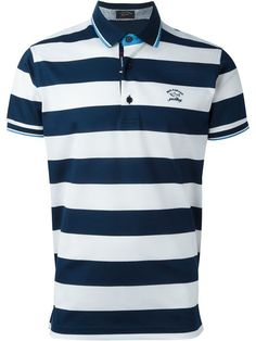 Shop Paul & Shark striped polo shirt in Spazio Pritelli from the world's best independent boutiques at farfetch.com. Shop 400 boutiques at one address.