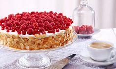 Beeren-Joghurt-Quark-Torte Rezept | Dr. Oetker