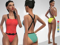 Lana CC Finds - Meilani Swimsuit by Puresim